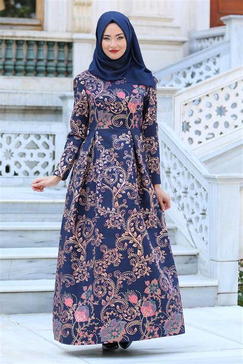 model gamis batik  brokat  style  gaya batik