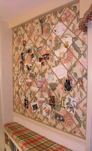 bulletin board ideas for bedroom an upholstered bulletin board wall hadly s room ideas pinterest
