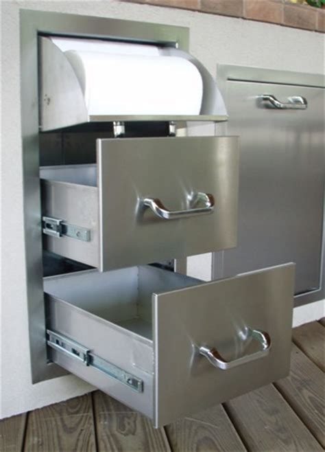 outdoor kitchen stainless doors and drawers rthc1 new rcs brand stainless steel drawer and paper