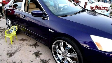 purple honda accord lx on 24 s hd youtube