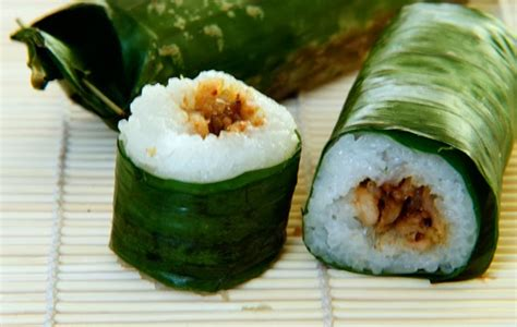 Roti Manis Roll Abon Ayam Dan Abon Sapi Rasa Enak Dan Murah rice rolls with chicken filling lemper recipes original recipes