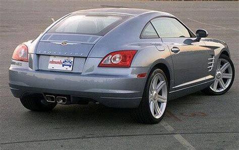 Chrysler Sports Coupe by Rear Right 2004 Chrysler Crossfire Car Picture Cars