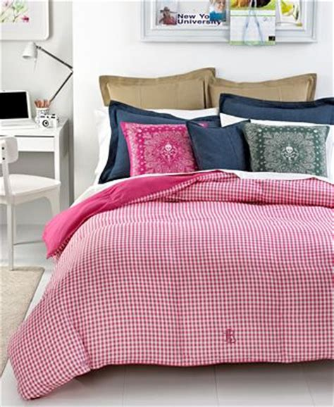 lauren ralph lauren down alternative comforters lauren ralph lauren bedding pink gingham down alternative