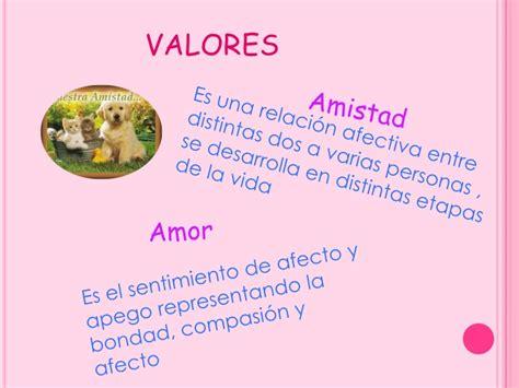 imagenes de amistad valores valores humanos