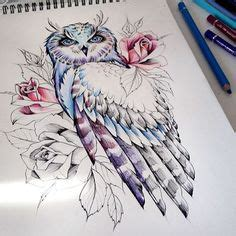 neo traditional owl sketch the order tattoo ideas i