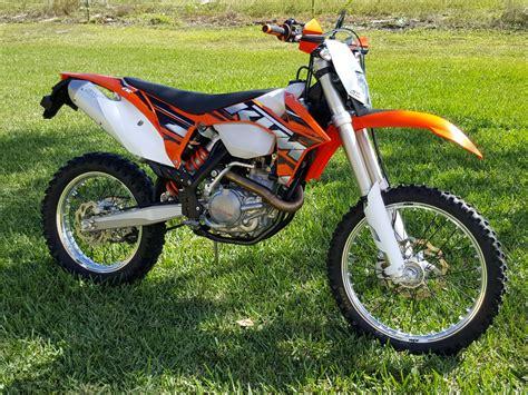 Ktm Dual Sport Motorcycles 2013 Ktm 500 Exc Dual Sport Ebay