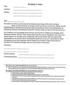 breaking lease letter template lease template 20 free word pdf documents