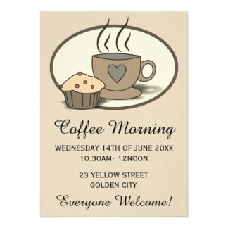 Coffee Morning Invitations Announcements Zazzle Co Nz Coffee Morning Invitations Templates