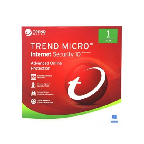 Trend Micro Security 10 For 1 User Windows 10 Support trend micro security 10 cloud edition 1 pc 1 year