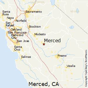 merced california map best places to live in merced california