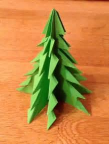 origami christmas trees writermummy