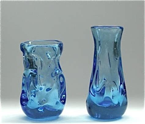 Range Vases by Whitefriars Knobbly Range The Jewels In The Crown Of The