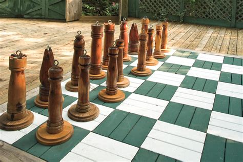 life size chess life size chess board lakeside garden design ideas