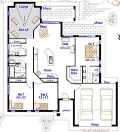 Cheap House Plans by 3 Bedroom Double Garage Australian Houses Cheap House Plans