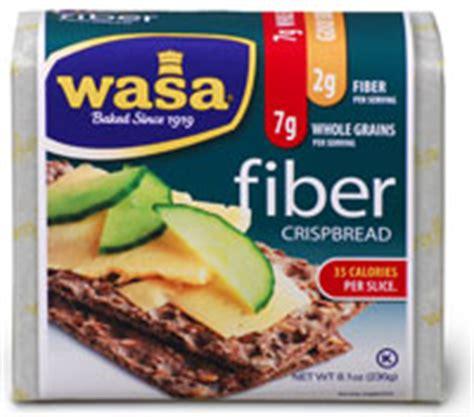 High Fiber Crackers Sugar Detox by Wasa Crackers Whole Grain Goodness Popsugar Fitness