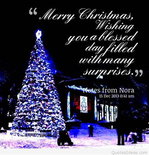 quotes merry christmas blessing