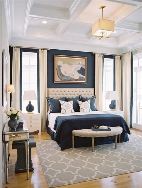 blue and beige guest bedroom traditional bedroom color therapy navy blue 21 photos messagenote