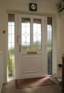 Upvc Front Door And Side Panel Anglian Upvc With Leading Side Panel Equivalent The Top Of Door House Ideas