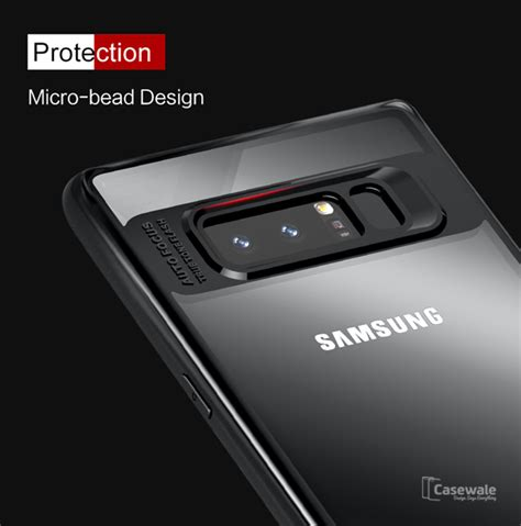 Soft Leather Auto Focus Samsung Note 8 Back Cover Original galaxy note 8 casewale