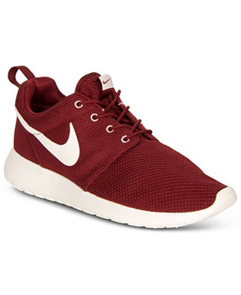 macys athletic shoes nike s shoes rosherun sneakers from finish line