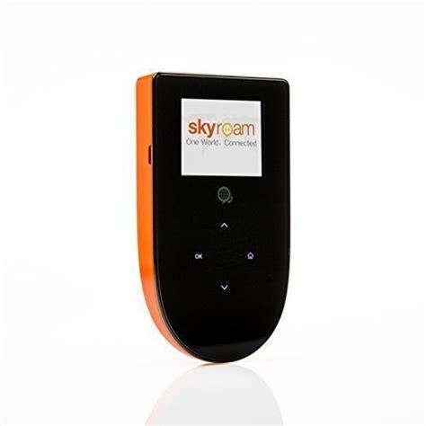 mobile wifi unlimited skyroam mobile hotspot global wifi unlimited data