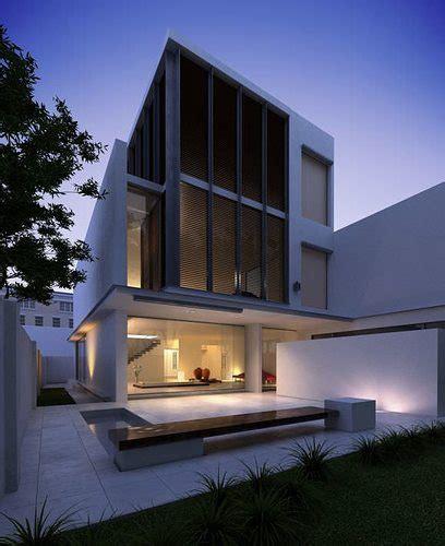 model modern  floor house cgtrader