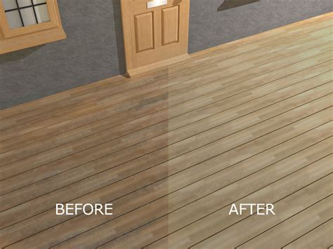 remove outdoor l post how to seal and stain pressure treated wood decking 4 steps