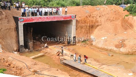 under the bridge mp mangaluru padil rub will be ready by october assures mp
