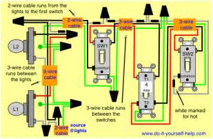 3 way and 4 way wiring diagrams with lights do it yourself help