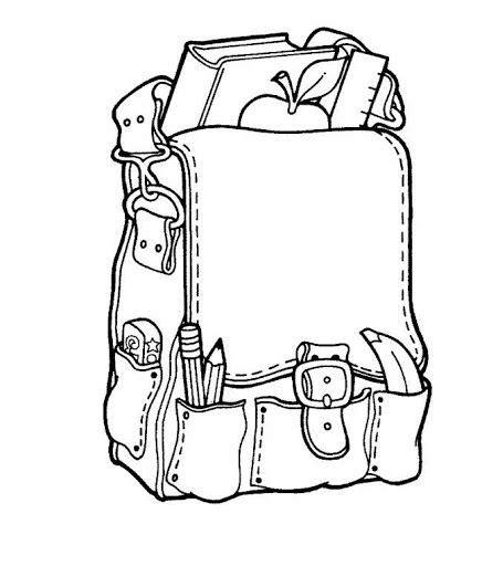 imagenes deutiles escolares para colorear utiles escolares dibujos para colorear de clase