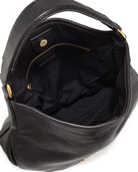 New Marc By Marc Bags At Neiman by Marc By Marc New Q Hillier Hobo Bag In Black Lyst