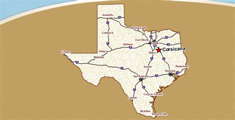 map of corsicana texas corsicana tx pictures posters news and on your pursuit hobbies interests and worries