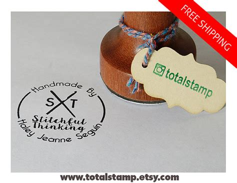 personalized rubber sts for card personalized rubber st business card st