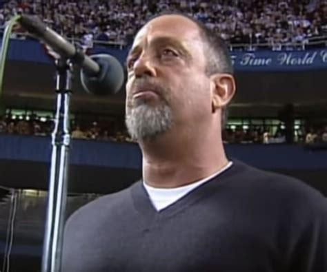 Billy Joel Is No Fan Of The National Anthem by Mets World Series Home National Anthem Performance