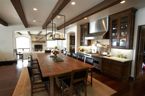 windsor smith kitchen rustic wood beams design ideas