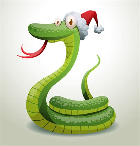 new year and snake new year snake 2013 design vector set 02 vector animal