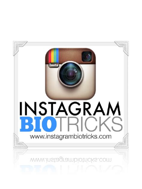 bio instagram tricks instagram bio tricks