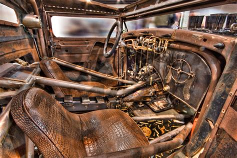 Ratrod Interior by Driven Imagery Rocky Mountain Rod Custom 2011 1931
