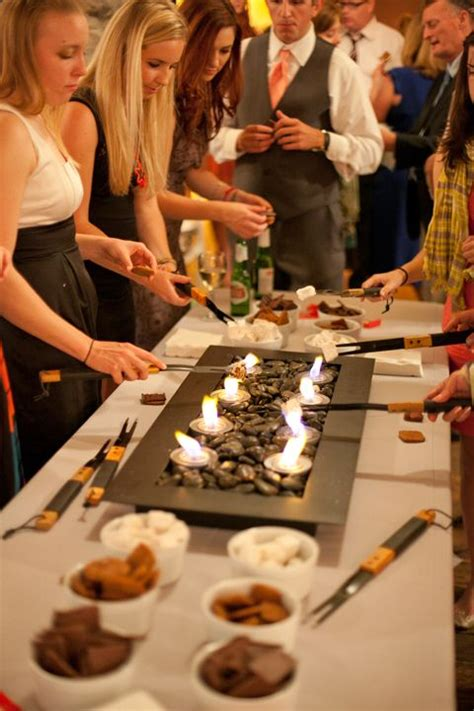 wedding catering trends  food bar types