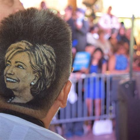 70 year old women who shave their pubic area bsld maria anita monsivaiz has hillary clinton shaved into her