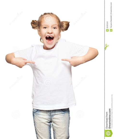 Child T Shirt child in white t shirt stock image image 35401041