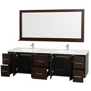 space saver wall mounted vanities bathroom decorating ideas