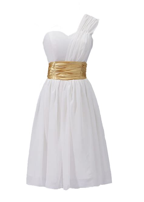 white dress with gold belt bridesmaid dresses