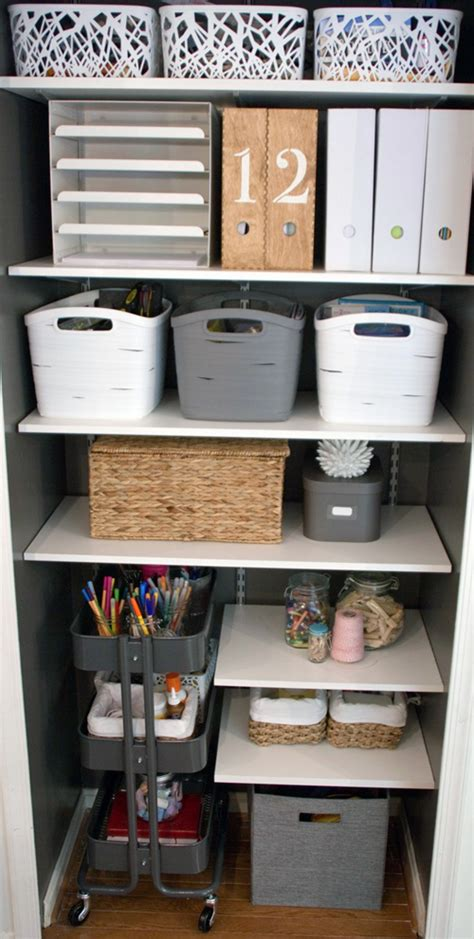 kitchen office organization ideas iheart organizing reader space double the storage fun