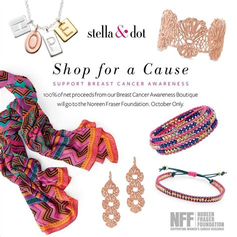 Shop For A Cause And Help Make The World More Glamorous by Stella Dot Shop For A Cause The Chasseur