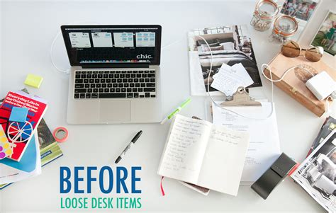 how to organize your desk at work organize your desk the chic site