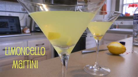 martini limoncello drink never settling
