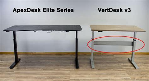sentinel elite help desk apexdesk elite series vs vertdesk v3 which desk is better