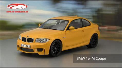 Bmw 1er M Coupe Zubehör by Ck Modelcars Bmw 1er M Coupe Gelb Minichs