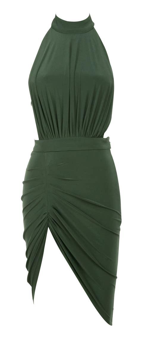House Design Styles List by Clothing Bodycon Dresses Raquela Khaki Backless